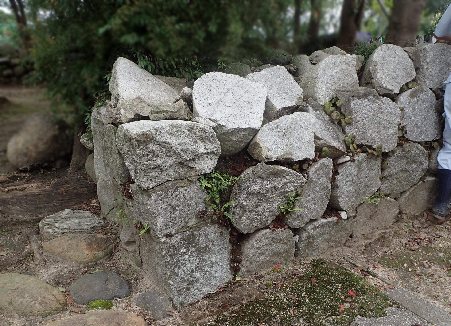 石積み修復前