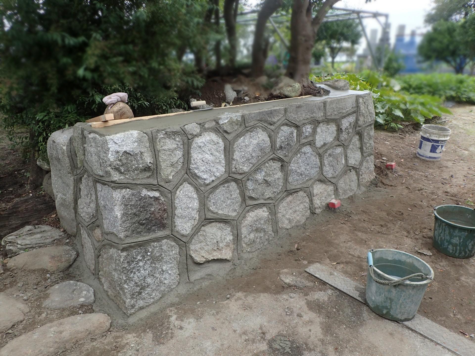 石積み修復後